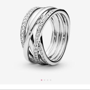 Gorgeous, Sparkling and Loop Band! Brand New!!